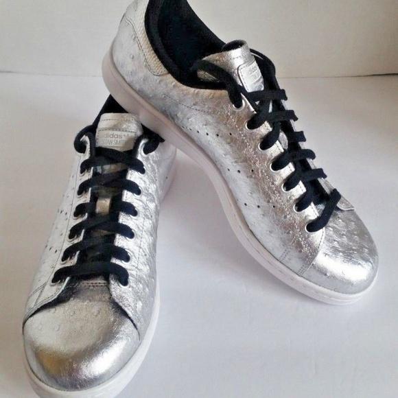 pretty nice fcdde 76835 adidas Other - adidas Mens Stan Smith Silver Metallic Low Top